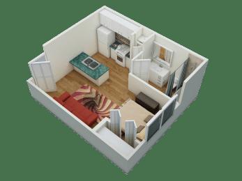Brickyard Flats Studio