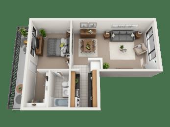 Monticello Capital Floor Plan