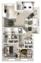Floor Plan COLUMBIA