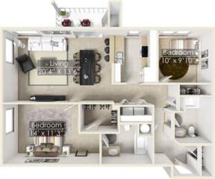 Four Lakes Madrona floor plan