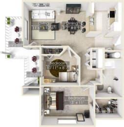 Floor Plan Madrona