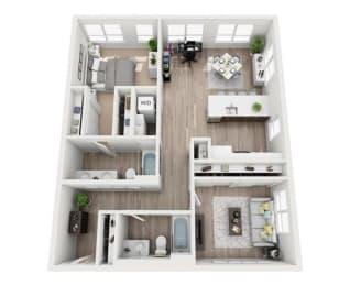 Floor Plan Bradbury