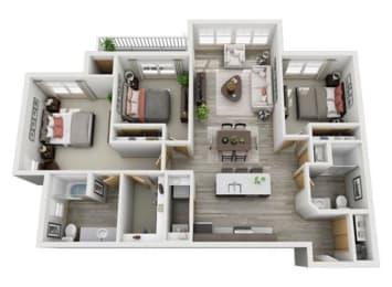 Floor Plan Hemlock II