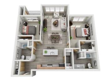 Floor Plan Spruce II