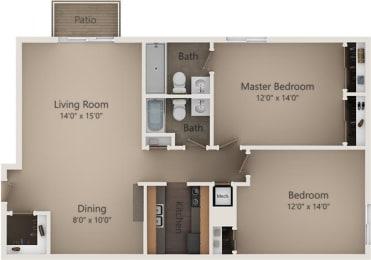 Floor Plan The Birch IV