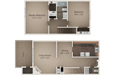 Floor Plan The Spruce Townhome