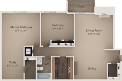 Floor Plan The Sycamore