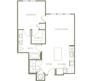 A1.1 Floor Plan at Alta Longwood, Longwood, Florida