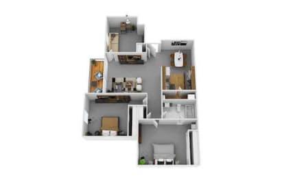 Floor Plan Sedona w/ Den