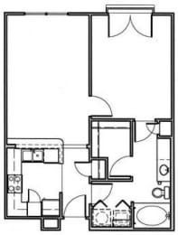 Floor Plan The Plum