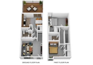 Floor Plan The Zinnia