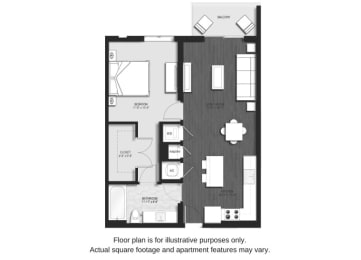 Floor Plan  A1 Floor Plan at Allure by Windsor, FL, 33487