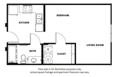 Floor Plan  S2 floor plan at Windsor Metro West, Plano, Texas