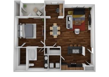 Floor Plan The Bellevue