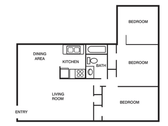 Floor Plan 3 Bedroom