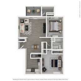 Floor Plan 2B-Renovated
