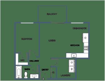 1 Bedroom 1 Bathroom at South Portland, Portland, 04106