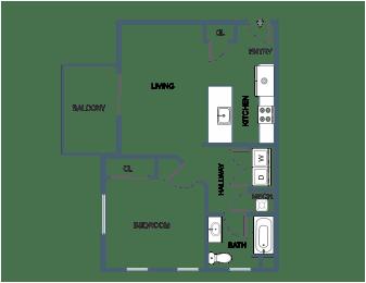 1 Bedroom 1 Bathroom at South Portland, Maine, 04106