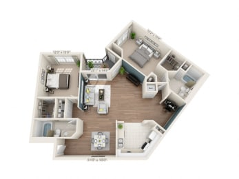 Floor Plan Mayfair