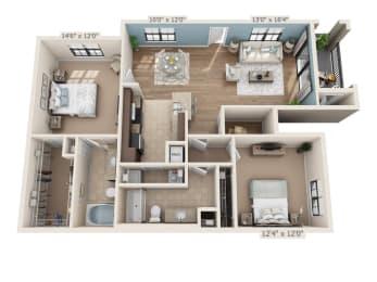 Floor Plan Bimini