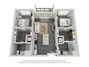 The Bexley Floor plan