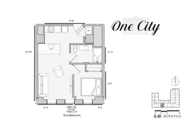 Floor Plan Residence - C2