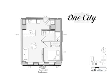 Floor Plan Residence - C2.A