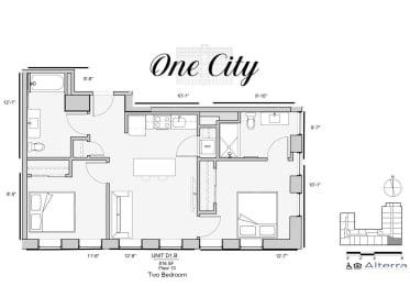 Floor Plan Residence - D1.B