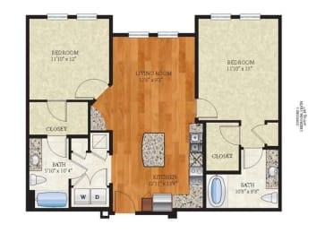 Floor Plan B1 CONCORD 1