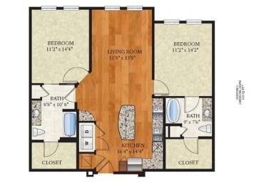 Floor Plan B2 CONCORD 2