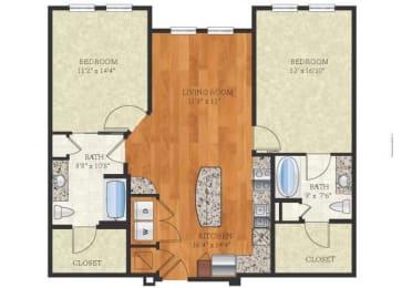 Floor Plan B2.1 CONCORD 3