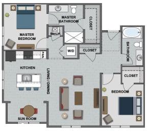 Wakefield Floor Plan at The Edison at Bridlespur, Kansas City, MO
