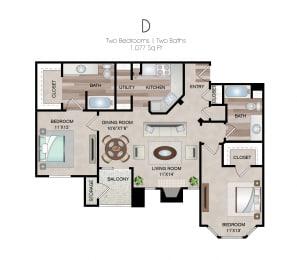 Floor Plan D1