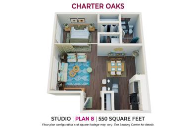 Floor Plan Studio Plan 8