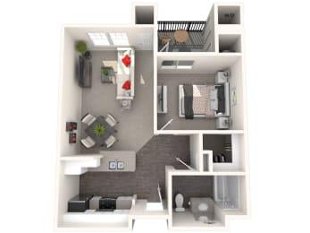 Fiesta Floor Plan at 55+ FountainGlen Valencia, Valencia, California