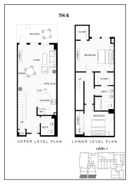BLU apartments floor plan image