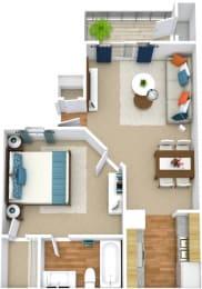 Floor Plan  A1A Floorplan