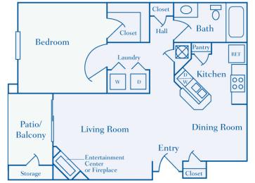 Lantern Woods - A3 - The Lighthouse - 1 bedroom - 1 bath