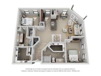 Floor Plan B5 Renovated