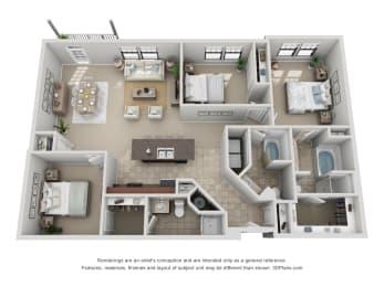 Floor Plan C2 Renovated