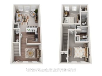 Floor Plan B1 Renovated