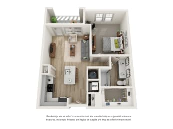 Floor Plan A4 - The Bell