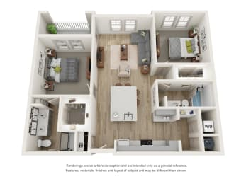 Floor Plan B2 - The Franklin