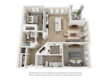 Floor Plan B3 - The Amelia