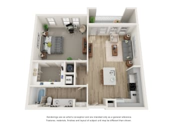 Floor Plan A2A - The Newton