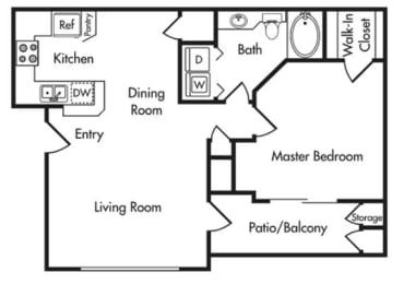 Berkshire Aspen Grove A2 Floorplan