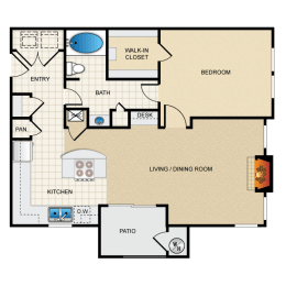 Berkshire Aspen Grove A6 Floorplan