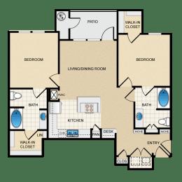 Berkshire Aspen Grove D3G Floorplan