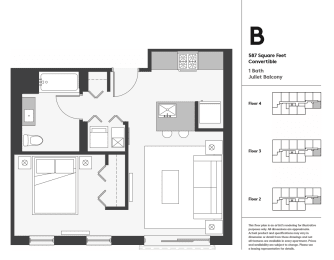 Floor Plan Convertible