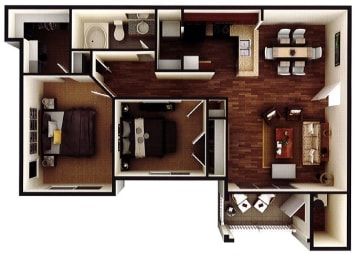 Floor Plan The Alexander